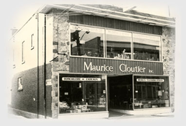 Magasin Maurice Cloutier inc. vers 1960