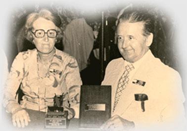Le fondateur, Monsieur Maurice Cloutier et son épouse Yvette
