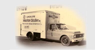 Camion de livraison vers 1960